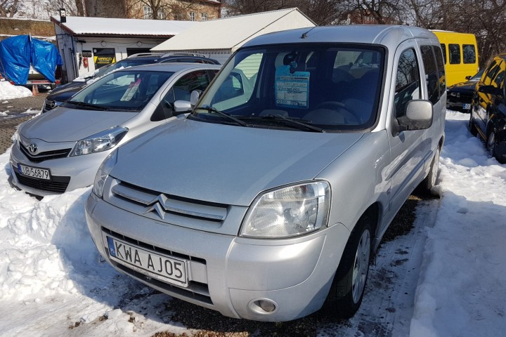 Citroen Berlingo 2008 rok, gaz 12900!