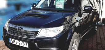 Subaru Forester 2.5 turbo benzyna salonPL