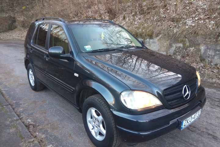 Mercedes-Benz ML W163  , 1999 r.