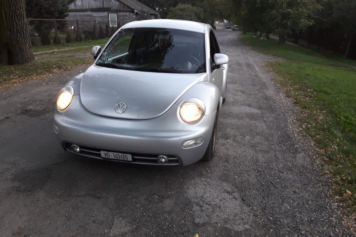 VW New Beetle 2000 rok, 1.8T benzyna